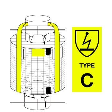 SF02:静電気対策フレコン(タイプC)