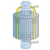 タイプCフレコン製品例:L2内袋縫製留タイプ