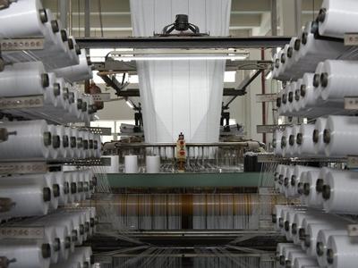導電タイプフレコンバッグ原反織布工程